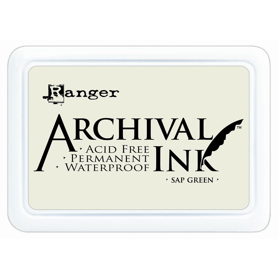 Ranger Archival Ink Pad - Sap Green