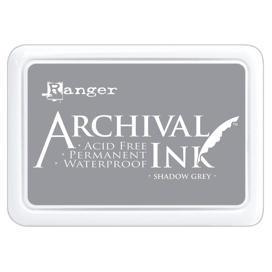 Ranger Archival Ink Pad - Shadow Grey