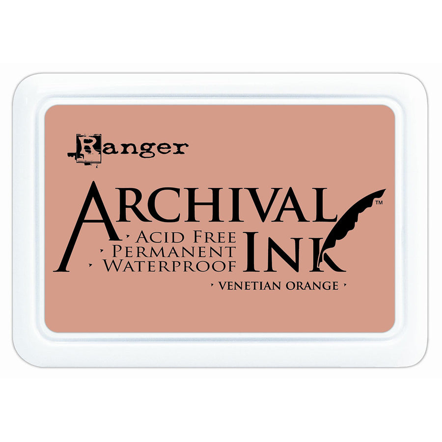 Ranger Archival Ink Pad - Venetian Orange