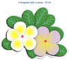 Cheery Lynn Designs Doily Dies - Frangipani with Leaves (B134)