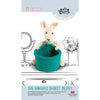Knitty Critters Crochet Kit - Basket Buddies - Kim Kangaroo