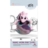 Knitty Critters Crochet Kit - Basket Buddies - Yasmine Unicorn