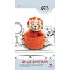 Knitty Critters Crochet Kit - Basket Buddies - Levi Lion