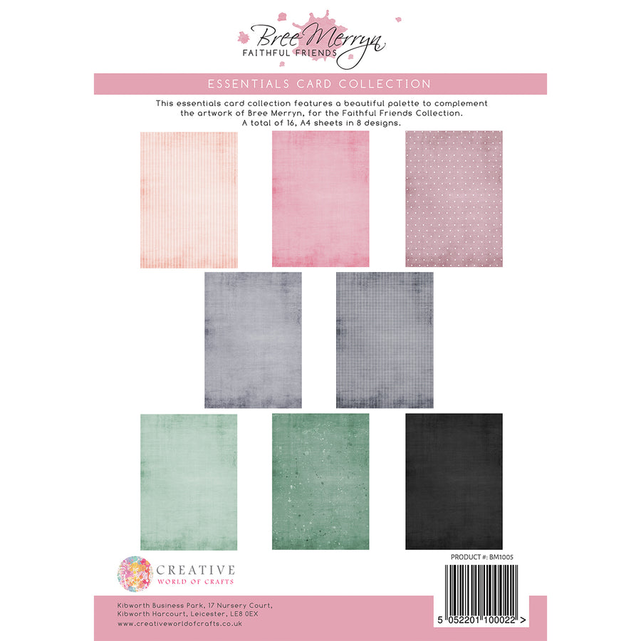Bree Merryn - Faithful Friends - Essentials Colour Card