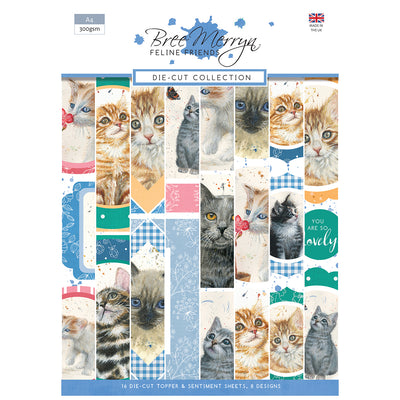 Bree Merryn - Feline Friends - Die-Cut Collection