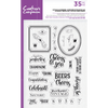 Crafters Companion - Clear Acrylic Stamps - Bottles Up Accessories