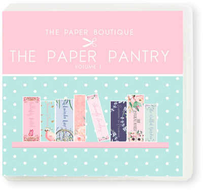 The Paper Boutique - The Paper Pantry Vol 1 - USB Collection