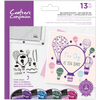 Crafters Companion - Photopolymer Stamp - Balloons In Flight
