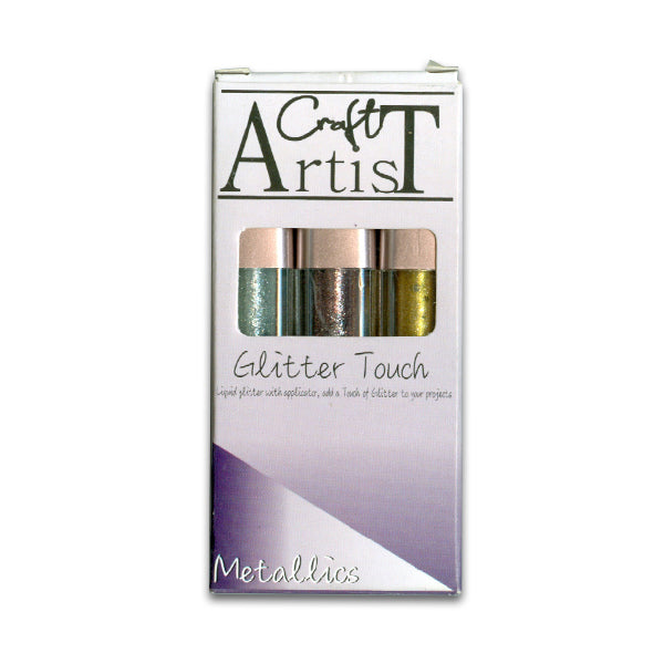 Craft Artist Glitter Touch - Metallics