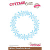 Cottage Cutz Die - Winter Snowflake Wreath (Elites) - CCE-047