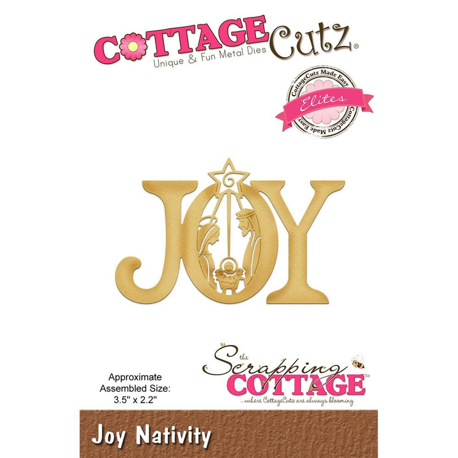 Cottage Cutz Die - Joy Nativity-CCE-475