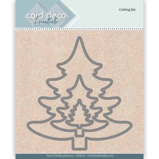 Card Deco Essentials Cutting Dies - Christmas Tree