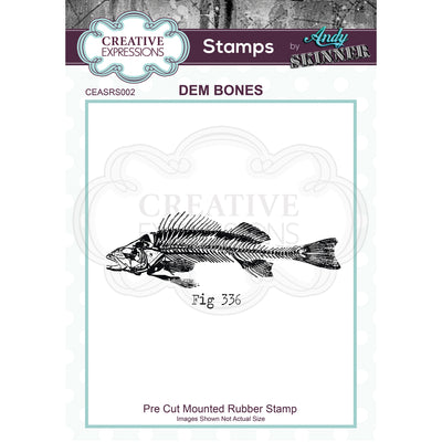 Andy Skinner - Dem Bones Stamp by Creative Expressions