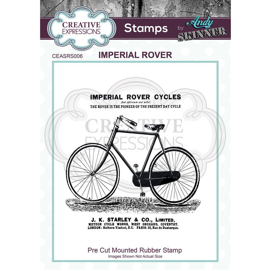 Andy Skinner - Imperial Rover Stamp by Creative Expressions