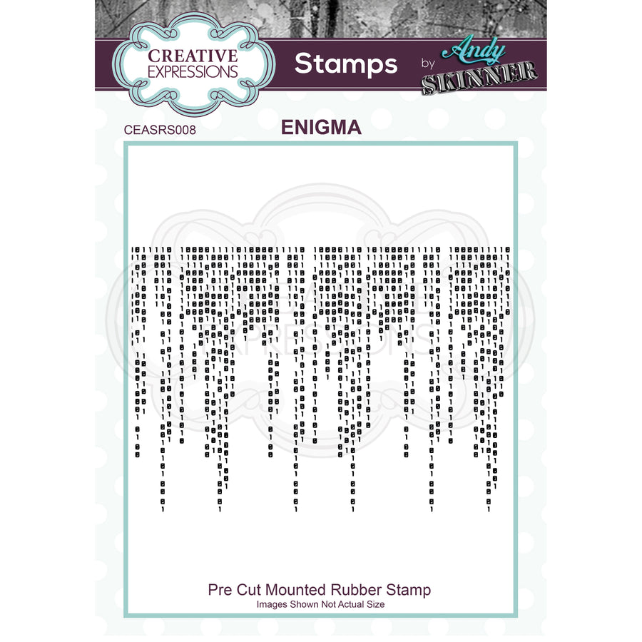 Andy Skinner - Enigma Stamp by Creative Expressions