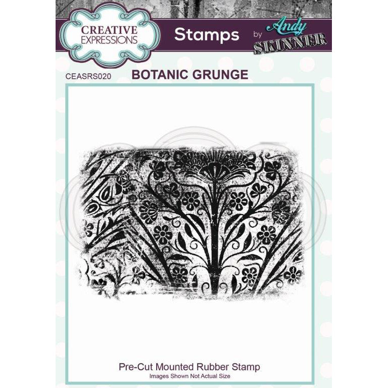 Andy Skinner Stamp by Creative Expressions - Botanic Grunge