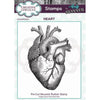 Andy Skinner Stamp by Creative Expressions - Heart