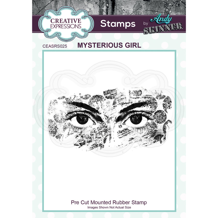 Andy Skinner Stamps by Creative Expressions - Mysterious Girl