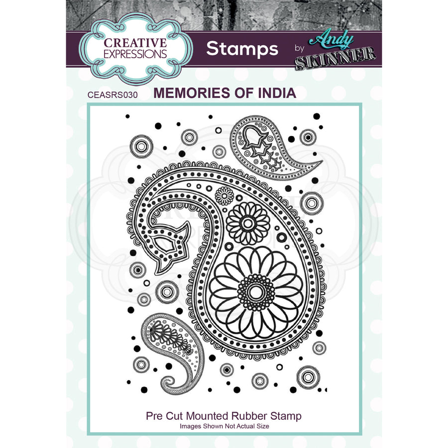 Andy Skinner Stamps by Creative Expressions - Memories of India