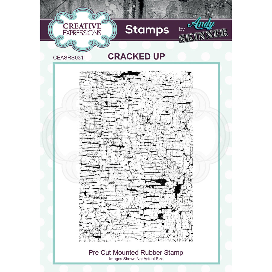 Andy Skinner Stamps by Creative Expressions - Cracked Up
