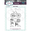 Andy Skinner Stamps by Creative Expressions - Rice Bike