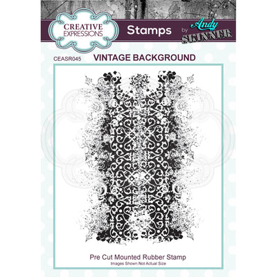 Andy Skinner Stamps by Creative Expressions - Vintage Background