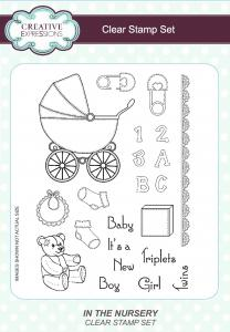 Creative Expressions Stamp Sets - In The Nursery A5