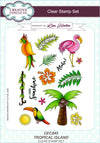 Lisa Horton Tropical Island A5 Clear Stamp Set - CEC845