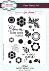 Lisa Horton Dotty About You A5 Clear Stamp Set - CEC847