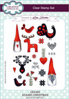 Lisa Horton Stamps - Scandi Christmas A5 Clear Stamp Set (CEC852)