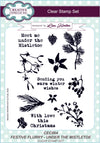 Lisa Horton Stamps - Festive Flurry Under the Mistletoe A5 Clear Stamp Set (CEC864)
