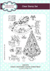 Lisa Horton Stamps - Have A Rocking Good Christmas A5 Clear Stamp Set (CEC875)