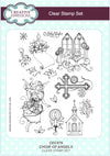 Lisa Horton Stamps - Choir of Angels A5 Clear Stamp Set (CEC876)