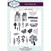 Lisa Horton Stamps - Scenic Elements A5 Clear Stamp Set - CEC915