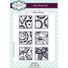 Lisa Horton Stamps - Art Tiles A5 Clear Stamp Set - CEC916
