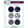 Lisa Horton Stamps - Inverted Circle A5 Clear Stamp Set  - CEC919