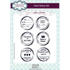 Lisa Horton Stamps - Sign It A5 Clear Stamp Set - CEC922