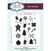 Lisa Horton Stamps - A6 Clear Stamp Set - Mini Stitched Embellishments - CEC933