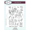 Sue Wilson Stamp - Carousel A5 Clear Stamp Set - CEC938