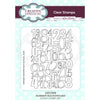 Lisa Horton - Number Background A6 Clear Stamp Set - CEC945