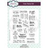 Sue Wilson A5 Clear Stamp Set - Beer Happy - CEC952