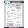 Creative Expressions Clear Stamp - Sam Poole - Dates From The Past