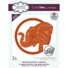 Sue Wilson Dies by Creative Expressions - Safari Collection - Elephant - CED1314
