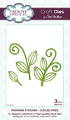 Craft Dies by Sue Wilson - Finishing Touches Collection - Curled Vines Die (CED1414)