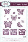 Craft Dies by Sue Wilson - Finishing Touches Collection - Magical Butterflies Die (CED1415)