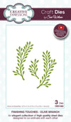 Craft Dies by Sue Wilson - Finishing Touches Collection - Olive Branch (CED1460)