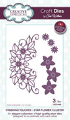 Craft Dies by Sue Wilson - Finishing Touches Collection - Star Flower Cluster (CED1463)