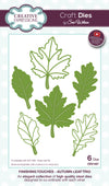 Craft Dies by Sue Wilson - Finishing Touches Collection - Autumn Leaf Trio (CED1467)