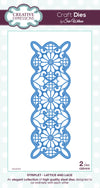 Craft Dies by Sue Wilson - Striplets Collection - Lattice and Lace (CED1610)