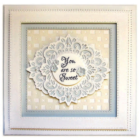 Sue Wilson Dies - Finishing Touches Collection Blossom Patch - CED1520